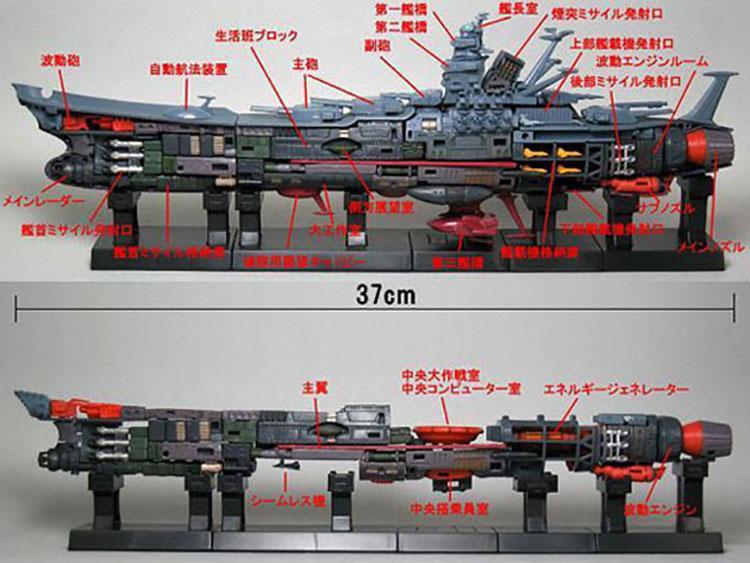 Space Battleship Yamato Mechanic File