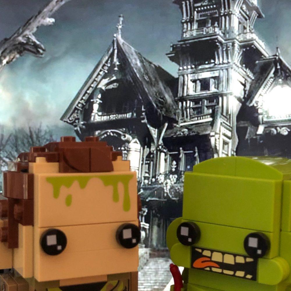 LEGO Brickheadz Ghostbusters Peter Venkman, Slimer