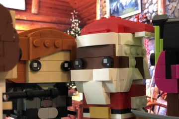 LEGO Brickheadz Soul Santa, Black Widow, Princess Leia, and Gamora