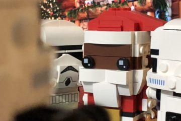 LEGO Brickheadz Soul Santa and Stormtroopers