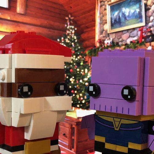 Soul Santa Meets Thanos