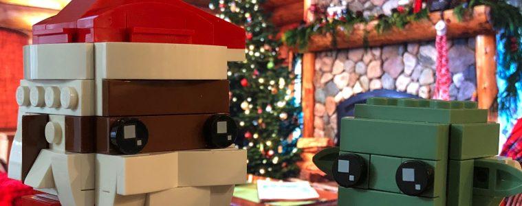 LEGO Brickheadz Soul Santa Meets Yoda