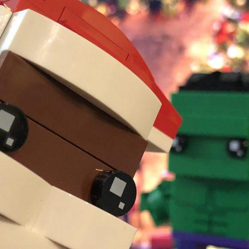 LEGO Brickheadz Soul Santa and Hulk