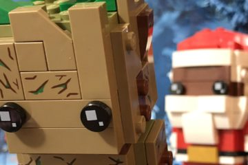 LEGO Brickheadz Soul Santa and Groot