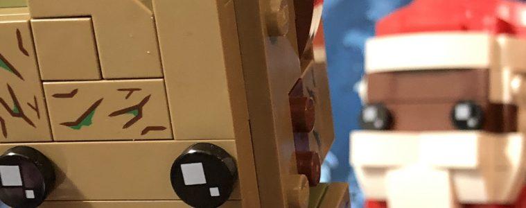 LEGO Brickheadz Soul Santa and Groot