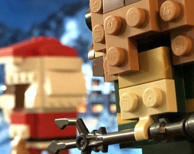 LEGO BrickHeadz Soul Santa and Aquaman