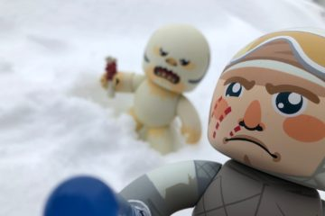 Mighty Muggs Luke Skywalker and Wampa