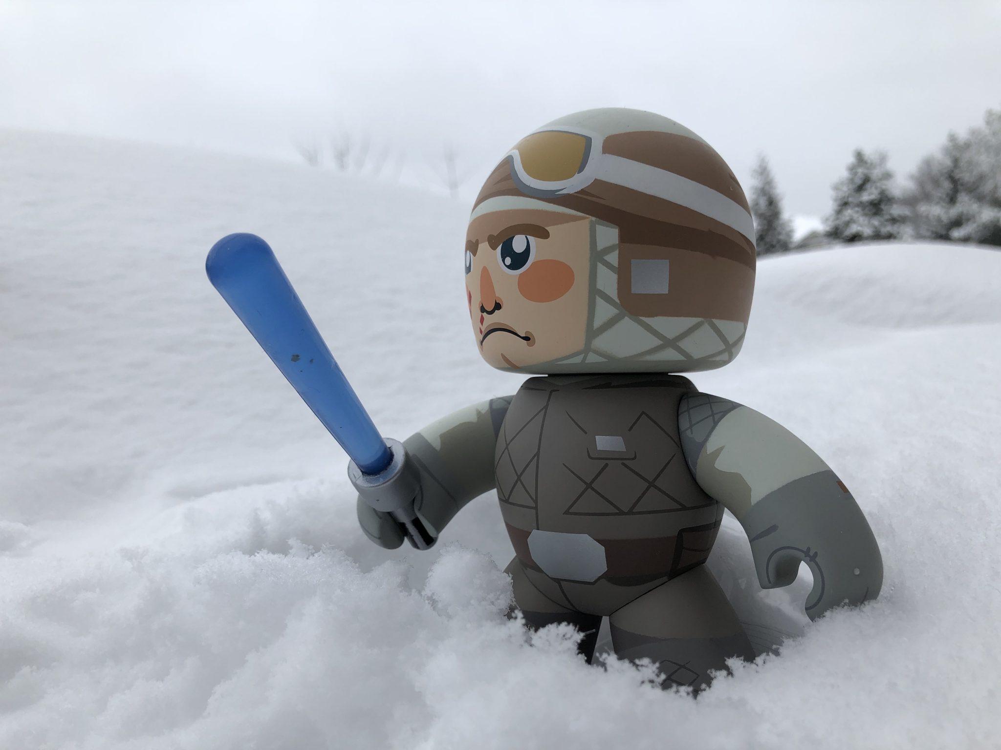 Mighty Muggs Star Wars Luke Skywalker (Hoth)