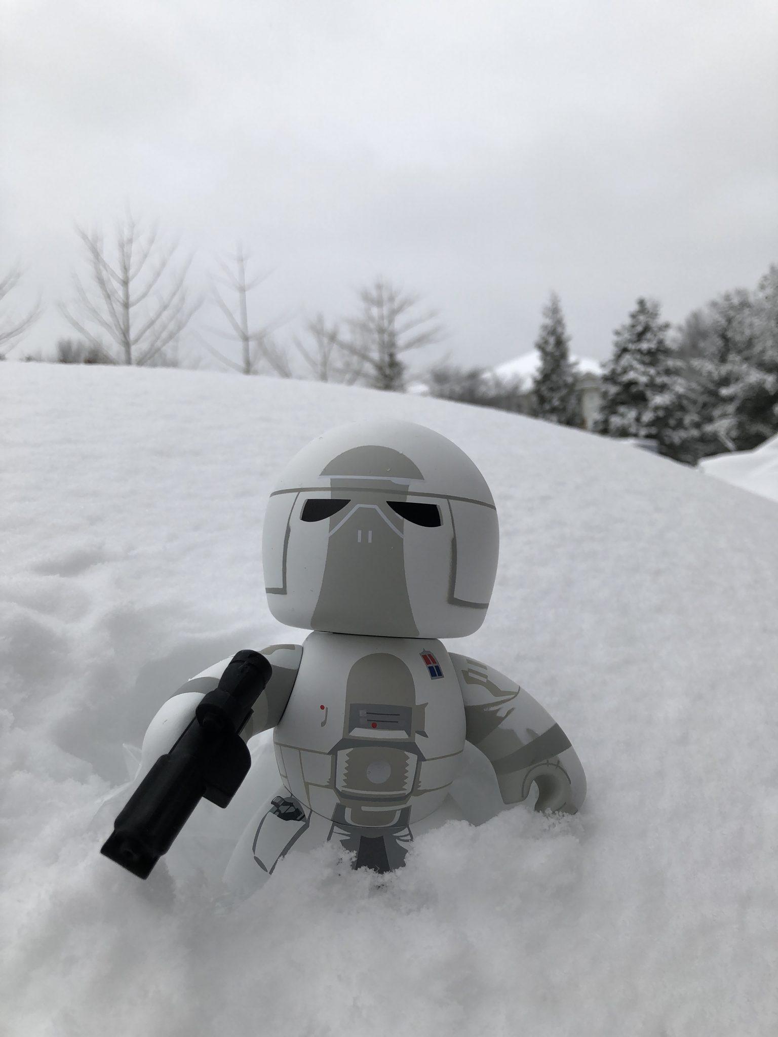 Mighty Muggs Star Wars Snowtrooper