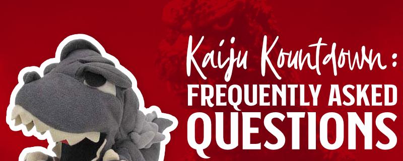 Kaiju Kountdown - FAQ